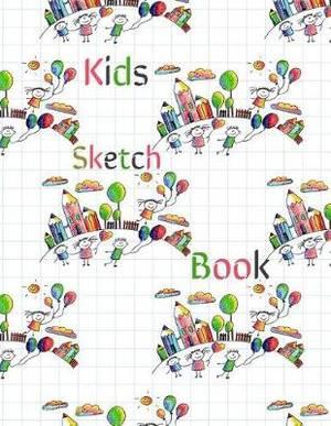 Kids Sketch Book: Blank Doodle Draw Sketch Books