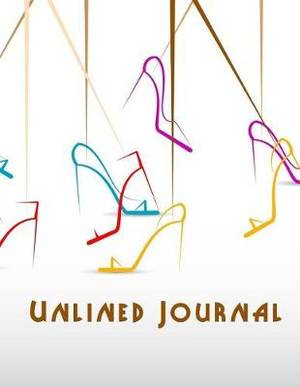 Unlined Journal: Blank Doodle Draw Sketch Book