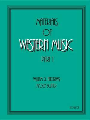 Materials of Western Music: Part 1