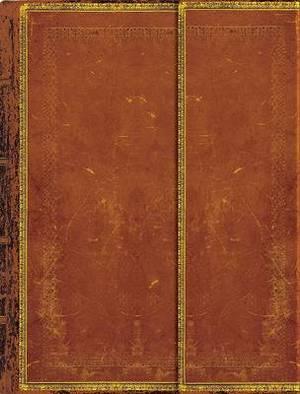 Old Leather Handtooled Sketchbook
