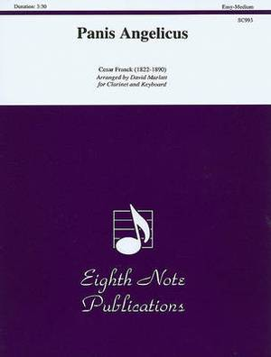 Panis Angelicus Clarinet/Keyboard