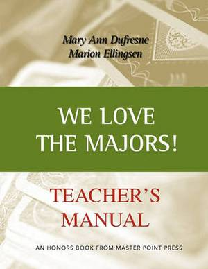 We Love the Majors Teacher's Manual