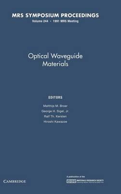 Optical Waveguide Materials