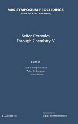 Better Ceramics through Chemistry