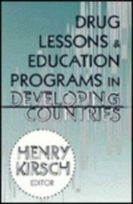 Drug Lessons & Education Programs in Developing Countries