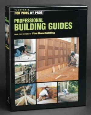 Tauntons Proffessional Building Guides Box Set