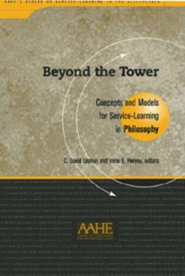 Beyond the Tower: Concepts and Models for Service-learning in Philosophy