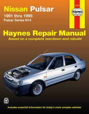 Nissan Pulsar Australian Automotive Repair Manual: 1991 to 1995