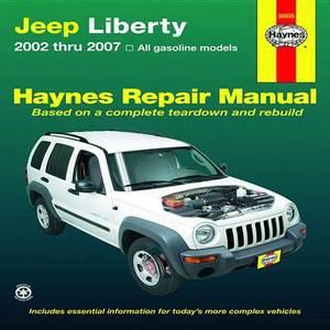 Jeep Liberty Automotive Repair Manual: 02-07