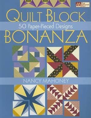 Quilt Block Bonanza 50 Paper-pieced Designs