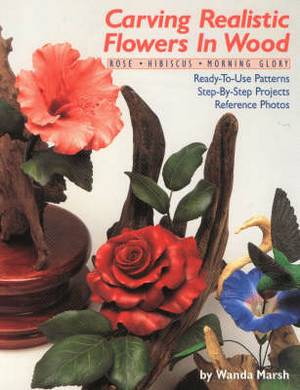 Carving Realistic Flowers in Wood: Rose, Hibiscus, Morning Glory