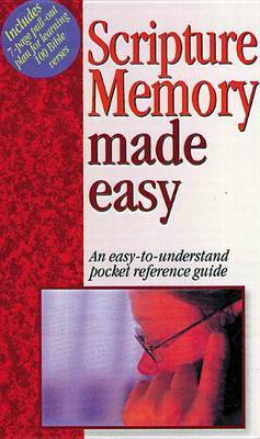 Scripture Memory Made Easy: Pocket-Sized Bible Reference Guides