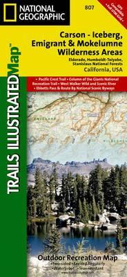 Carson-Iceberg/Emigrant/Mokleumne Wilderness Areas: Trails Illustrated Other Rec. Areas