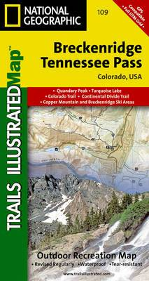 Breckenridge/Tennessee Pass: Trails Illustrated