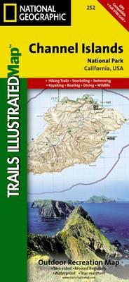 Channel Islands National Park: Trails Illustrated National Parks