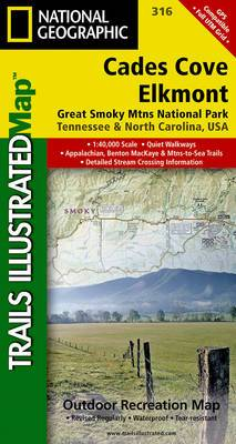 Cades Cove/Elkmont, Great Smoky Mountains National Park: Trails Illustrated National Parks