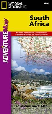South Africa: Travel Maps International Adventure Map