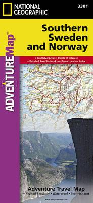 Southern Norway and Sweden: Travel Maps International Adventure Map