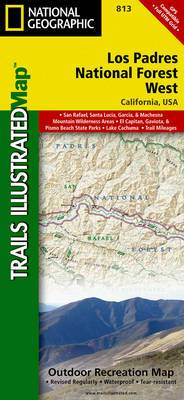 Los Padres National Forest, West: Trails Illustrated Other Rec. Areas