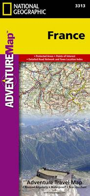 France: Travel Maps International Adventure Map