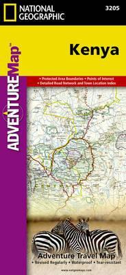Kenya: Travel Maps International Adventure Map