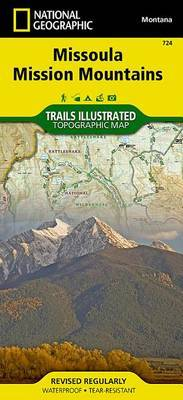 Missoula, Mission Mountains: Trails Illustrated Other Rec. Areas