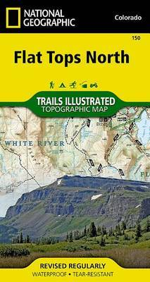 Flat Tops North: Trails Illustrated