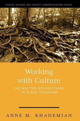 Working with Culture: The Way the Job Gets Done in Public Programs