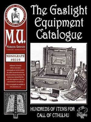 Gaslight Equipment Catalogue
