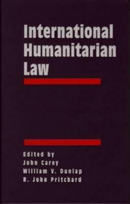 International Humanitarian Law: Origins, Challenges, Prospects (3 vols)