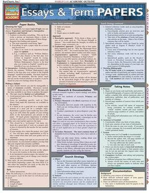 Essays and Term Papers: Reference Guide