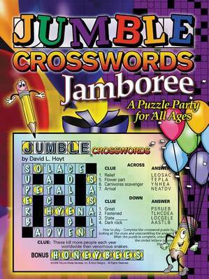 Jumble Crossword Jamboree: A Puzzle Party for All Ages