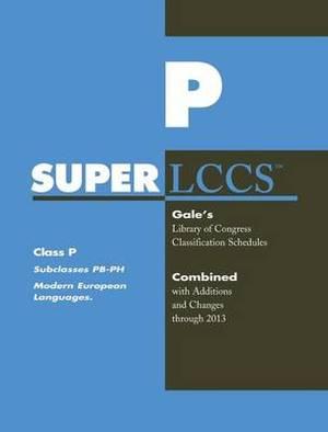 SUPERLCCS 13: Schedule PB-PH Modern Euro Lang Incl Russian L