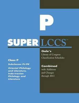 SUPERLCCS 13: Schedule Pj-Pk Oriental & Indo-Iranian Phil