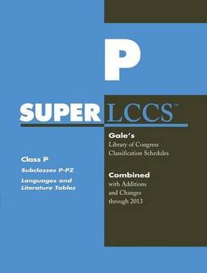 SUPERLCCS 13: Schedule P-Pz Language & Literature Tables