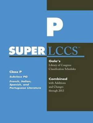SUPERLCCS 13: Schedule Pq French Ital Spanish & Port Lit