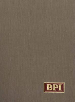 Bookman's Price Index: A Guide to the Values of Rare and Other Out of Print Books