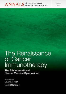The Renaissance of Cancer Immunotherapy: The 7th International Cancer Vaccine Symposium