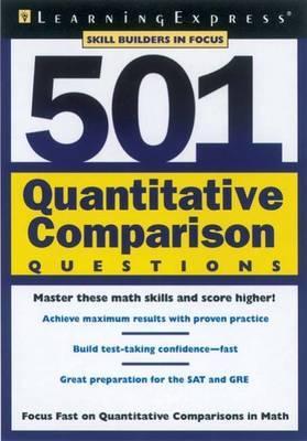 501 Quantitative Comparison Questions