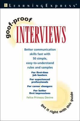 Goof Proof Interview
