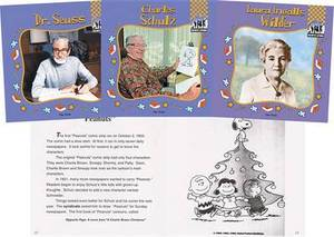 Children's Authors: Set I  (Charles Schulz, Stan & Jan Berenstain, Tomie Depaola, Laura Ingalls Wilder, Maurice Sendak, & Dr. Suess)