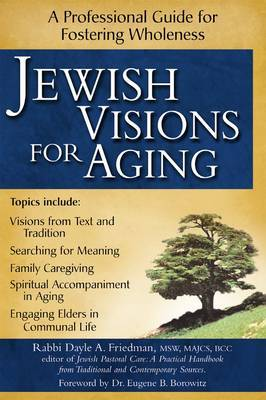 Jewish Visions for Aging: A Professional Guide to Fostering Wholeness