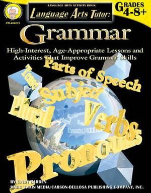 Language Arts Tutor: Grammar, Grades 4 - 8
