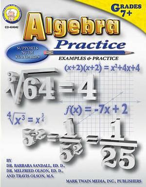 Algebra Practice Middle/Upper Grades