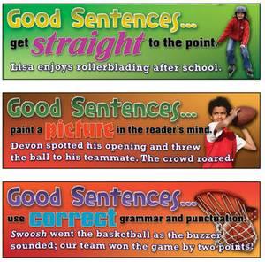 Good Sentences Mini Bulletin Board Set