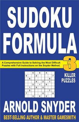 Sudoku Formula 3: Killer Puzzles