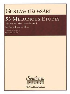53 Melodious Etudes, Book 1: Saxophone