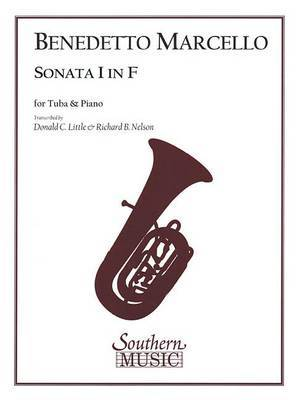 Sonata I in F: For Tuba and Piano