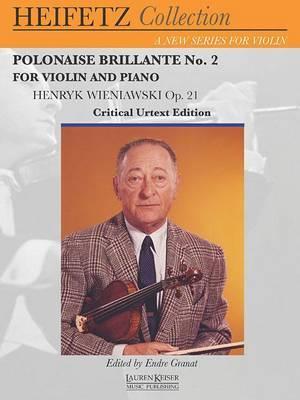 Polonaise Brillante No. 2: Violin and Piano Heifetz Collection