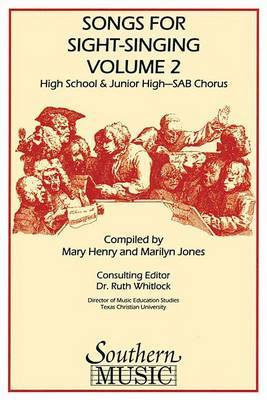 Songs for Sight Singing - Volume 2: Junior High/High School Edition Sab Book